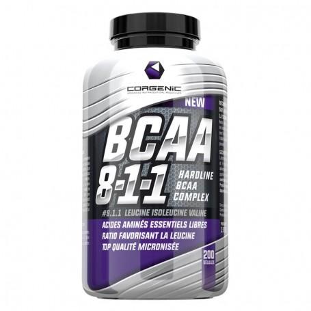 BCAA 8 1 1 - Corgenic