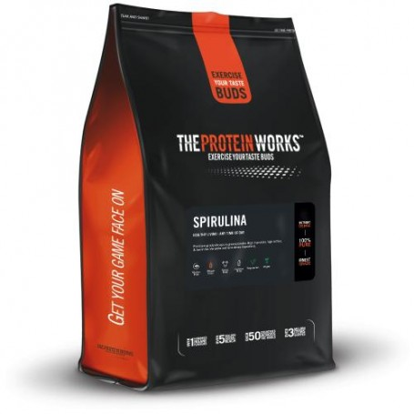 Spiruline en poudre 250gr - The Protein Works