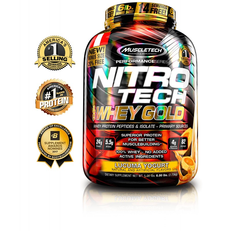 Nitro-Tech Whey Gold - MuscleTech