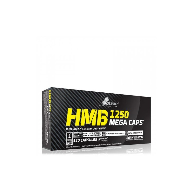 HMB Mega Caps 1250 - Olimp Sport Nutrition