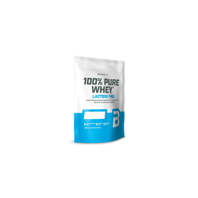 100% Pure Whey sans lactose 1000 g - BioTech USA