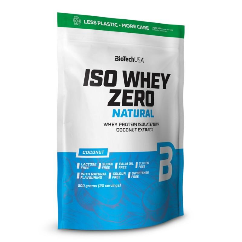 Iso Whey Zero Natural protéine isolat - BioTech USA