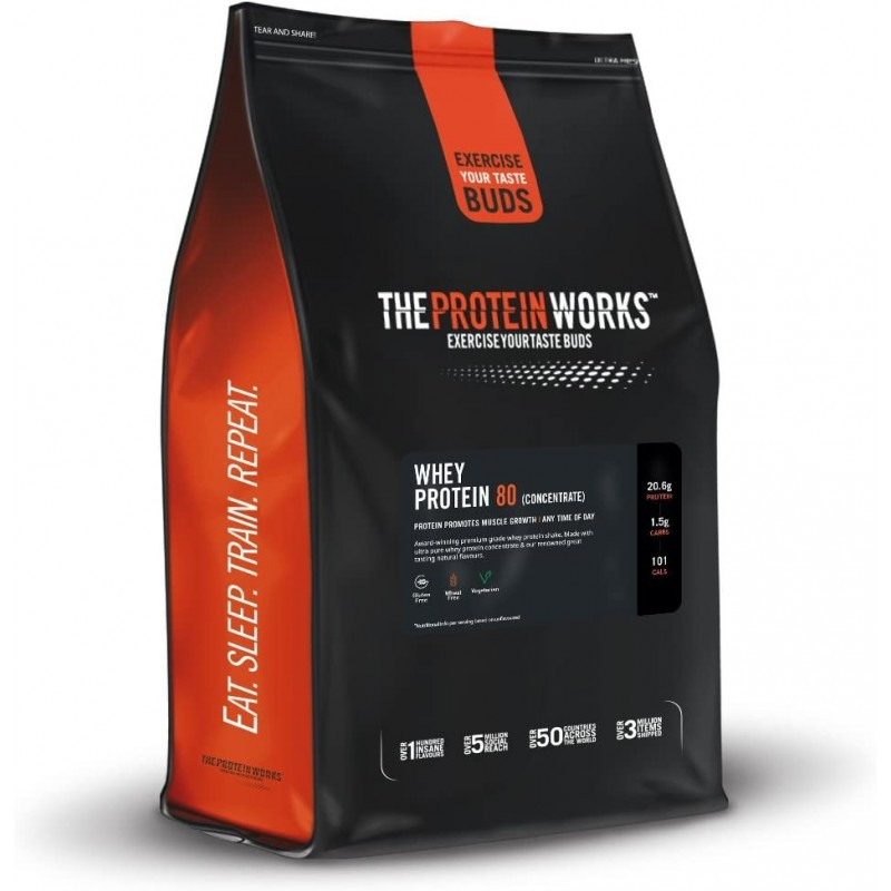 Protéine Whey 80 - 2Kgs - The Protein Works