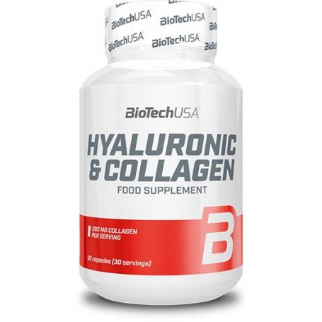BioTech USA - Hyaluronic & Collagéne 30 capsules