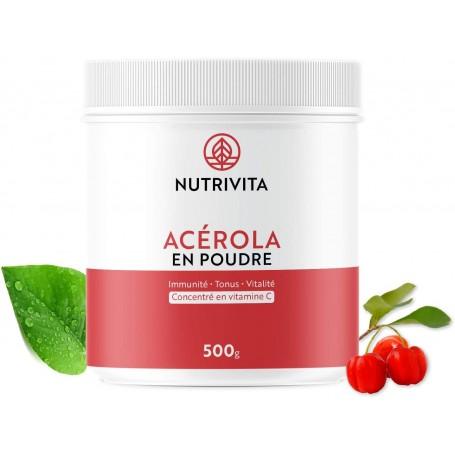 Nutrivita - ACÉROLA EN POUDRE NUTRIVITA