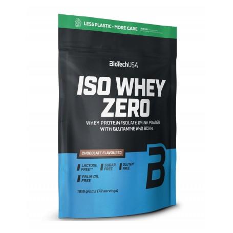 BioTech USA - Iso Whey Zero protéine isolat 1,816Kg dans un sachet en papier